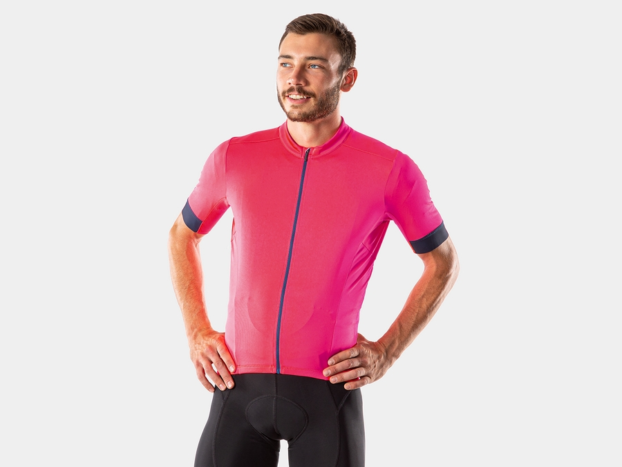 Bontrager Jersey Velocis X-Large Radioactive Pink